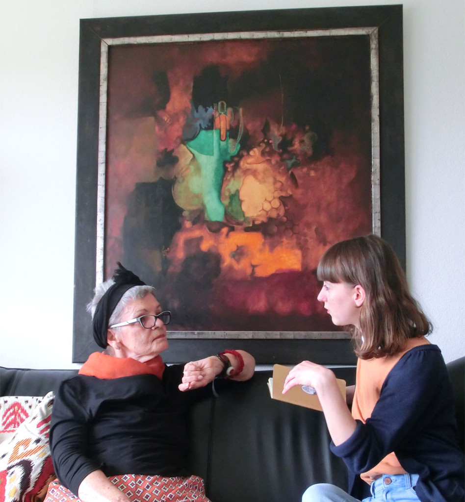 Damenkränzchen mit Oma Ingrid