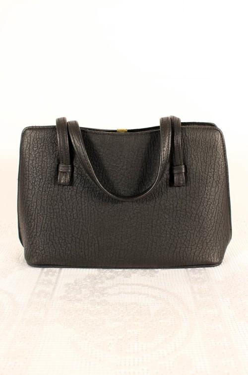 schwarze-vintage-handtasche