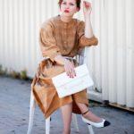 Valeria ist ein einzigartiges VintageDesignerkleid von Jil Sander Hier gehtshellip