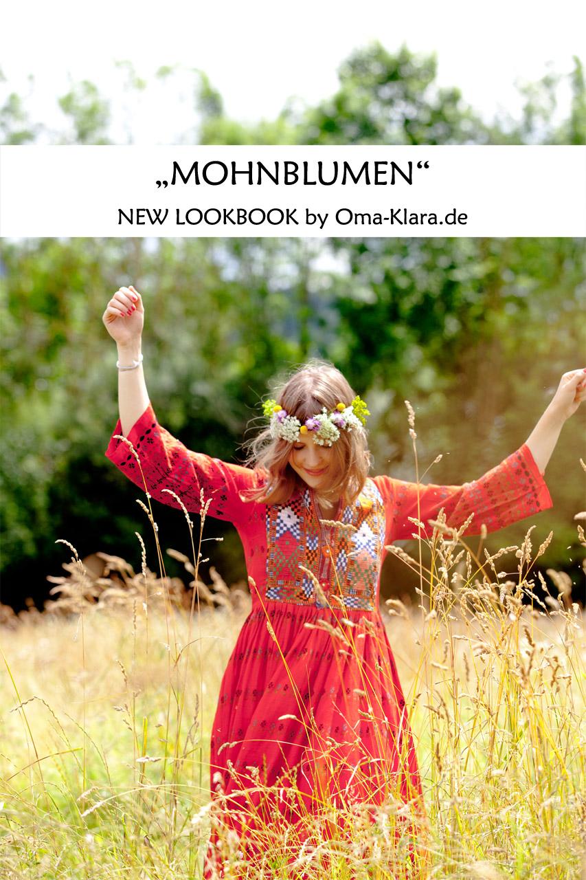 Lookbook - Mohnblumen 01 - Oma Klara