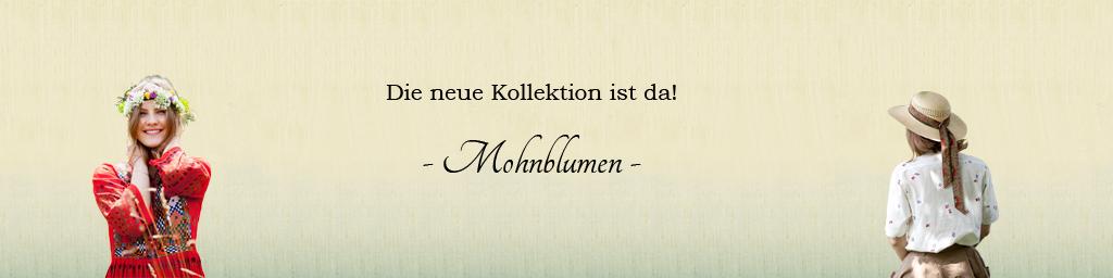 Kollektion Mohnblumen - Oma Klara - Vintage Shop