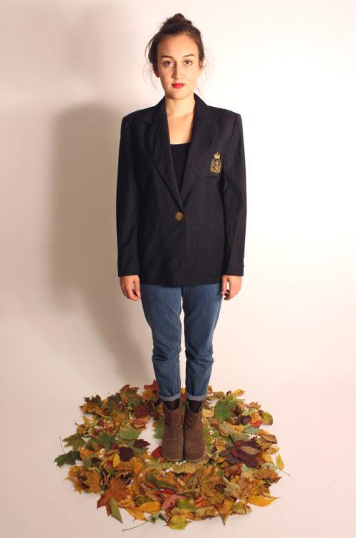 vintage-blazer-dunkelblau-kariert
