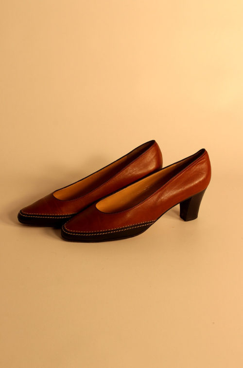 vintage-pumps-braun