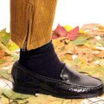 Groe Loafer Liebe  Der Vintage Lackloafer gehrte einst Omahellip