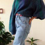 Ein VintagePullover mit 100  LiebhaberstckPotential Foto veronique pulloverliebe vintageliebehellip