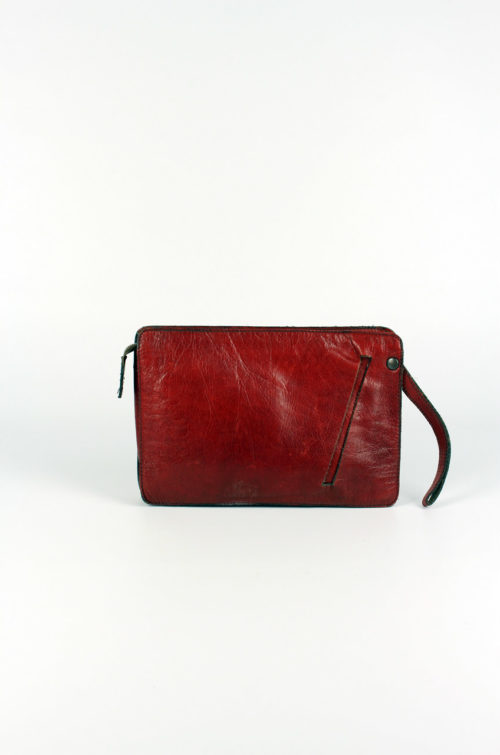 Damen-Clutch-Braun