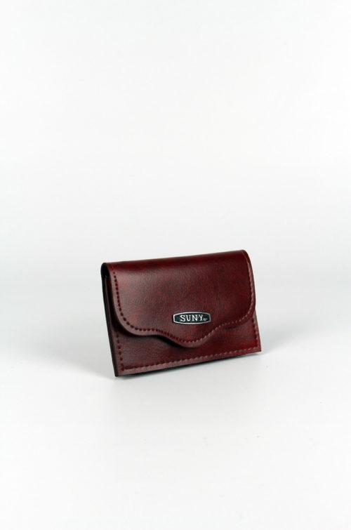 Vintage-Portemonnaie-braun