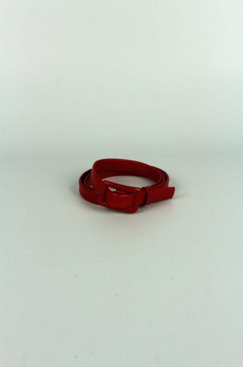 Damengürtel-Schmal-Rot