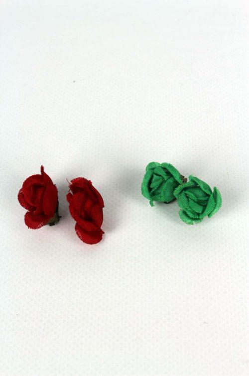 Ohrringe-rot-grün