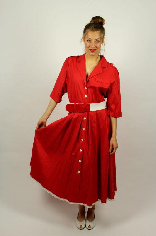 Vintage-Kleid-Spitze