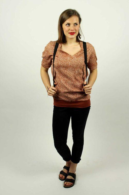 Vintage-Longshirt-Damen