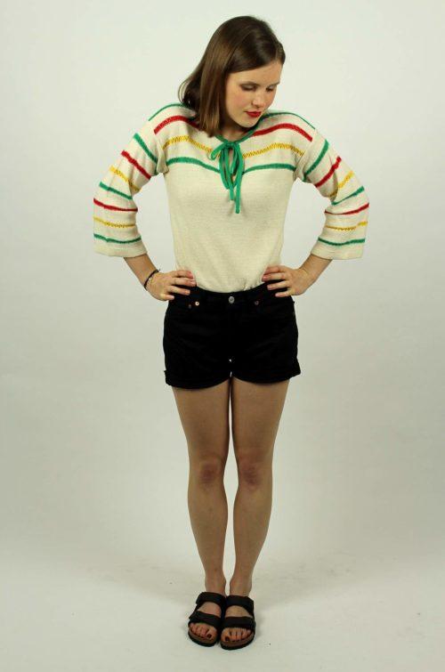 Vintage-Strick-Shirt