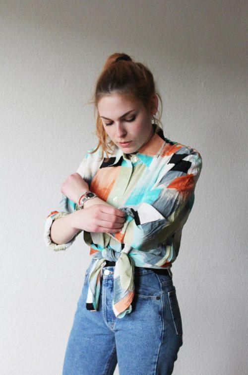 Damen Hemd langarm