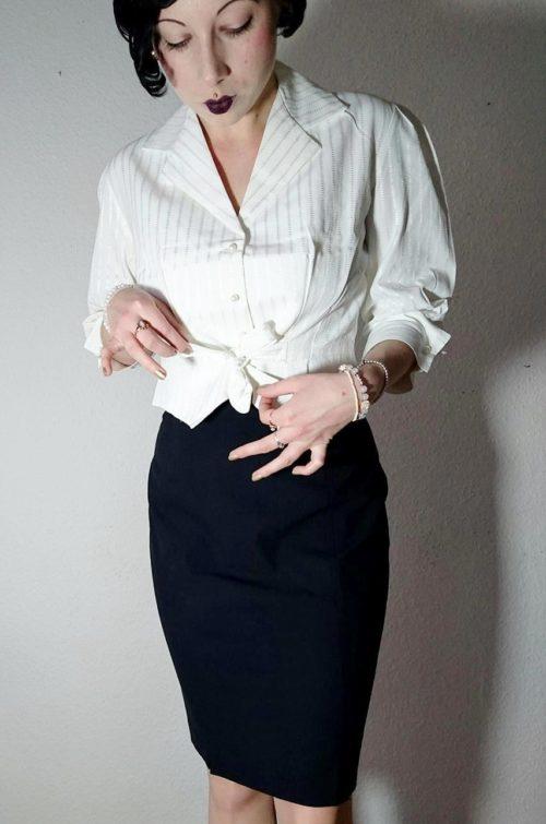Vintage Damen Oberteil