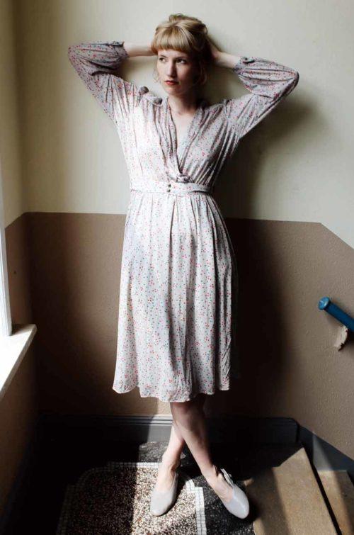 Vintage Kleid 70er Jahre