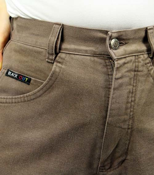 Secondhand hohe Taille