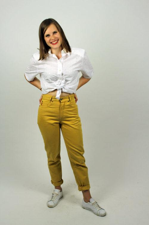 Vintage Hose Gelb