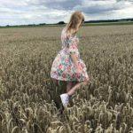 VintageKleid mit Obstmuster von Oma Karin gt Ab morgen imhellip