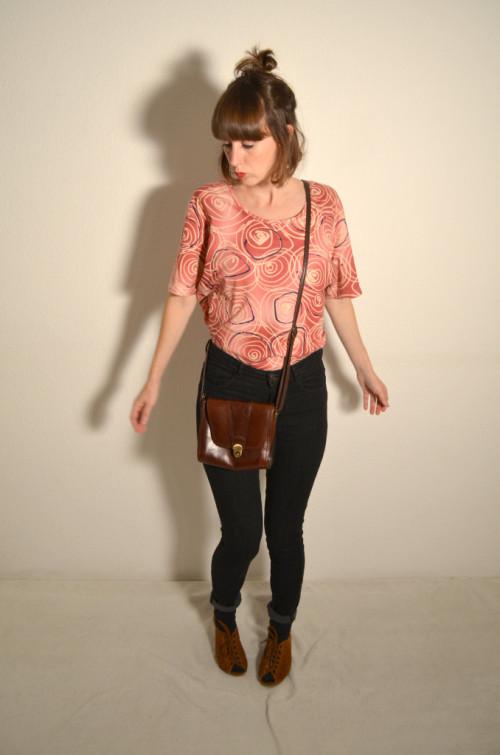 T-Shirt rosa - Rosalinde