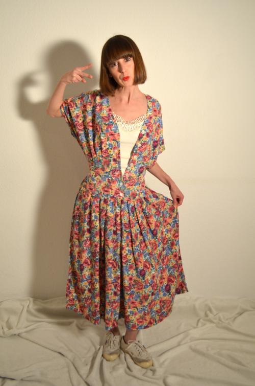 Vintage Kleid - Frau Fronicka