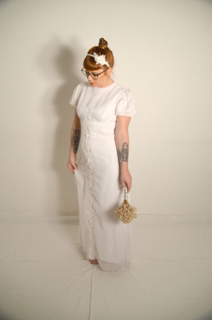 Vintage Hochzeitskleid Madita Oma Klara
