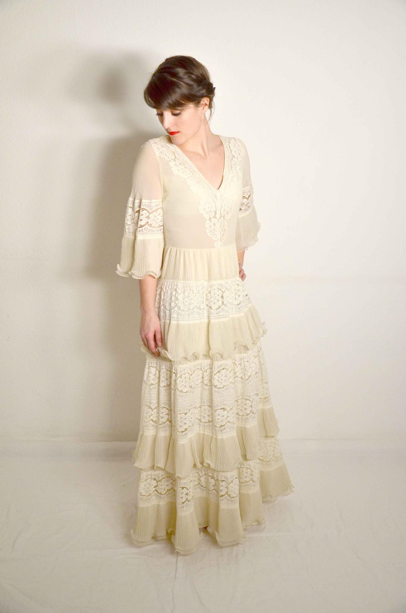 Vintage Hochzeitskleid \