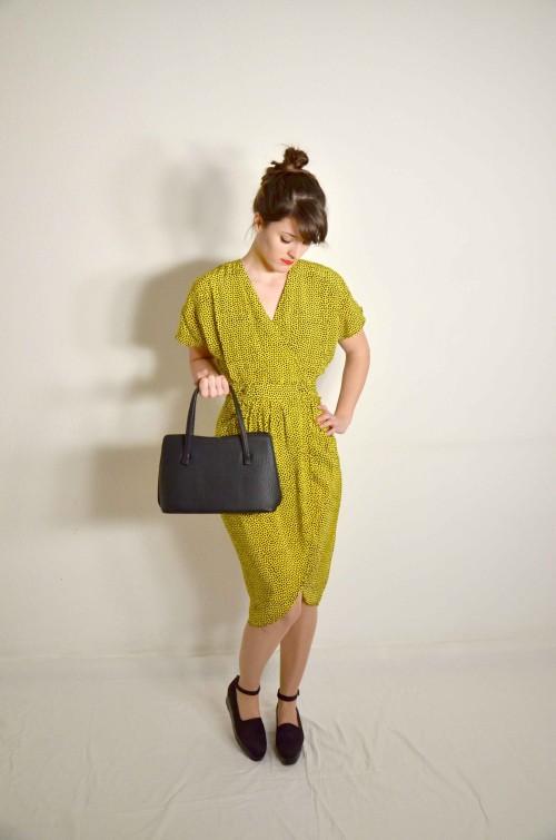 Wallis Vintage Kleid Gelb