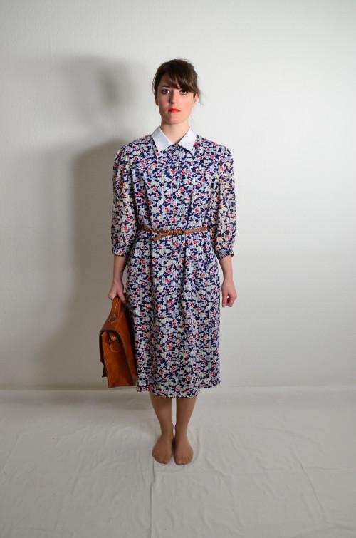 Vintage Kleid Floral