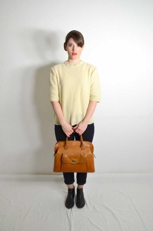 Vintage Pullover Damen