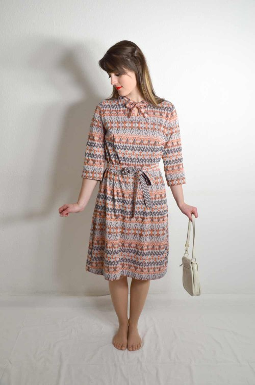 Vintage Kleid bunt
