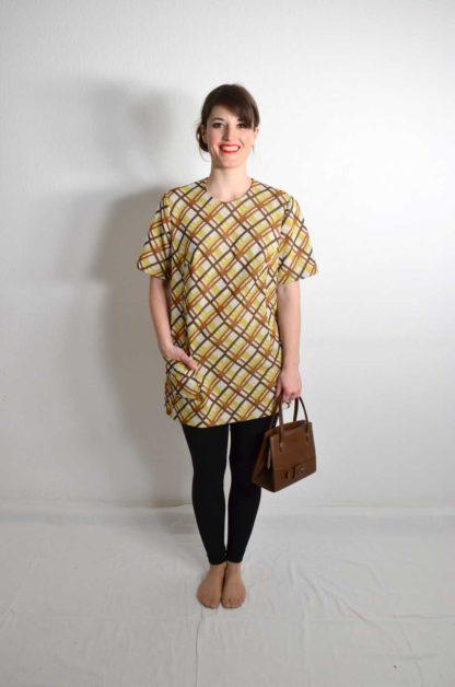 Kariertes Vintage Shirt Damen