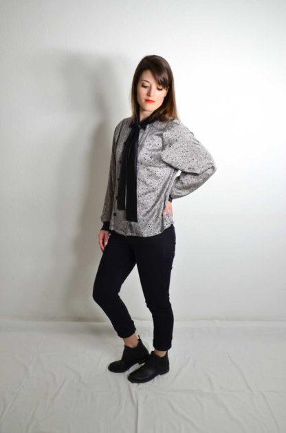 Vintage Bluse Seide