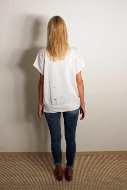 Damen T-Shirt mit Pailletten
