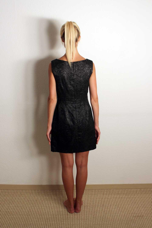 Schwarzes Abendkleid kurz Vera coco   Oma Klara
