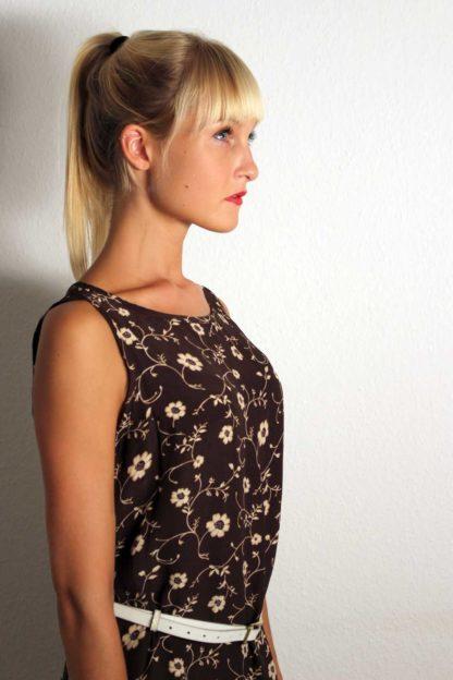 Vintage Kleid mit Blumenmuster