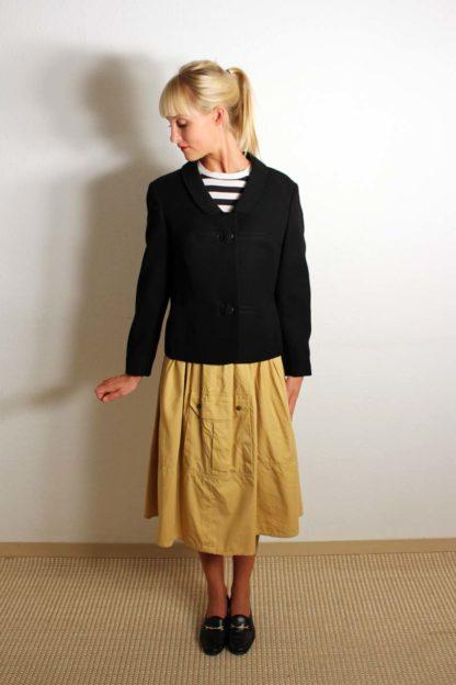 vintage-blazer-schwarz
