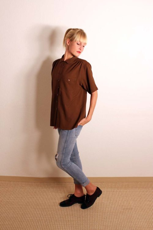 vintage-bluse-kurzarm
