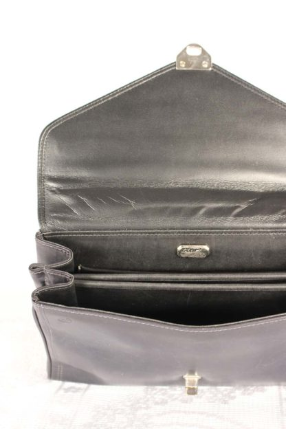 dunkelblaue-vintage-handtasche