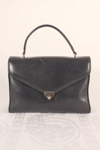 vintage-handtasche-dunkelblau