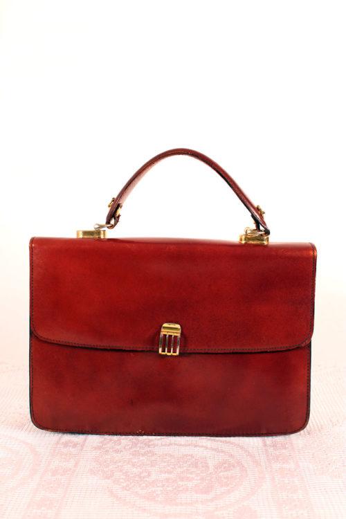 vintage-ledertasche-damen-rotbraun