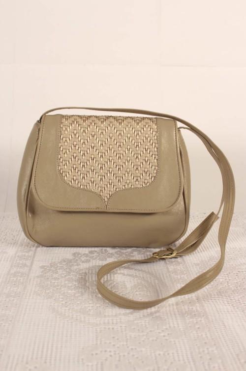 vintage-handtasche-beige