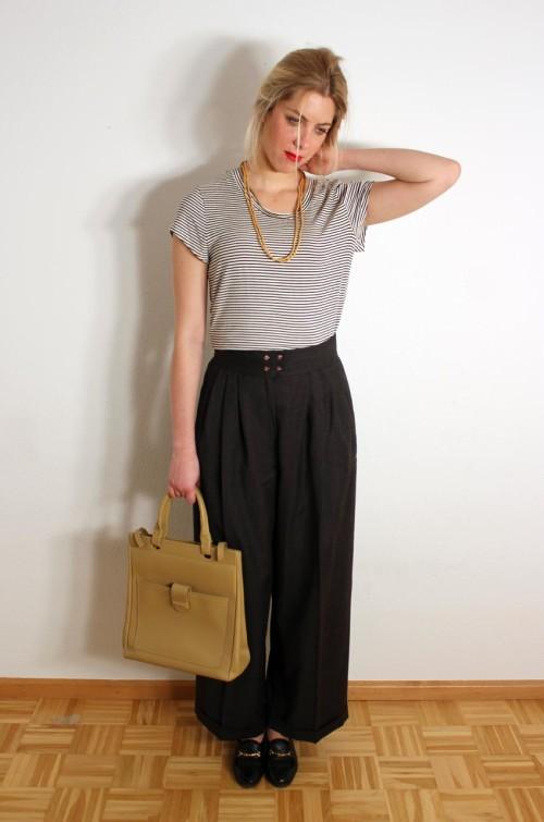 vintage-bundfaltenhose-damen