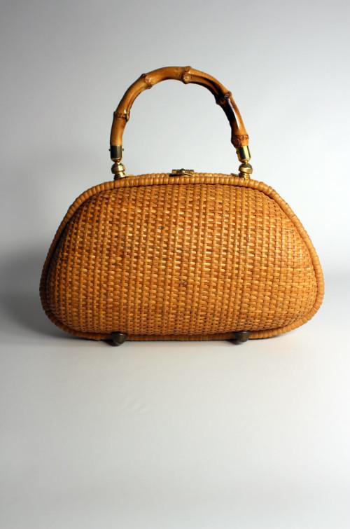 vintage-handtasche-bambus