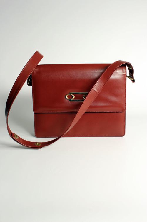 vintage-handtasche-damen-rotbraun