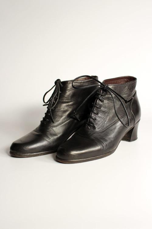 vintage-stiefeletten-schwarz