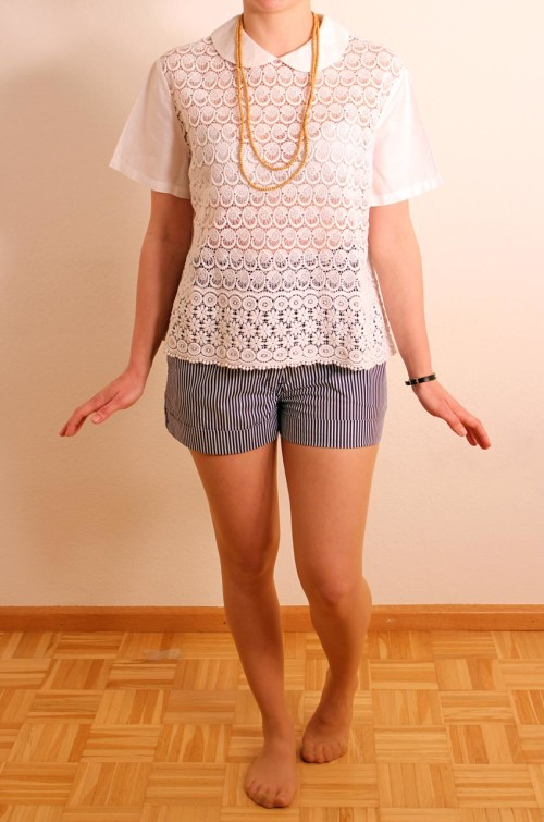 vintage bluse weiss