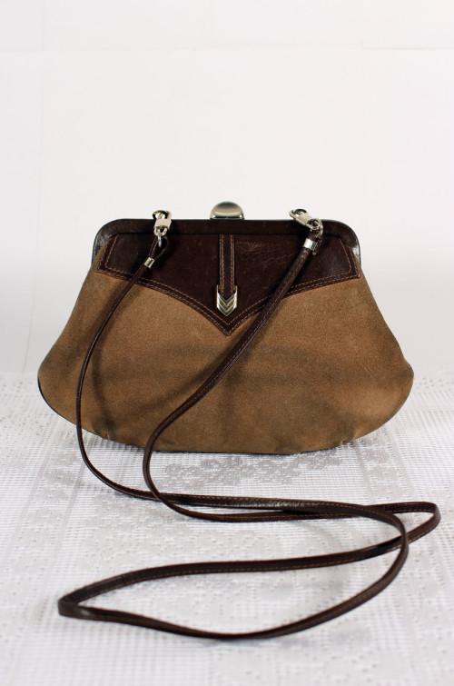 vintage-handtasche-wildleder