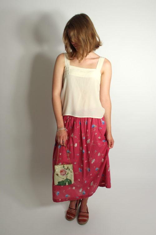 vintage-damenrock-pink