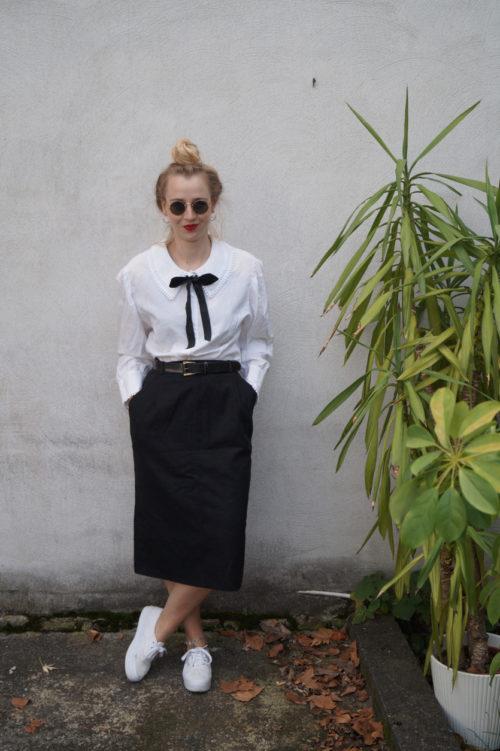 vintage-bluse-mit schleife