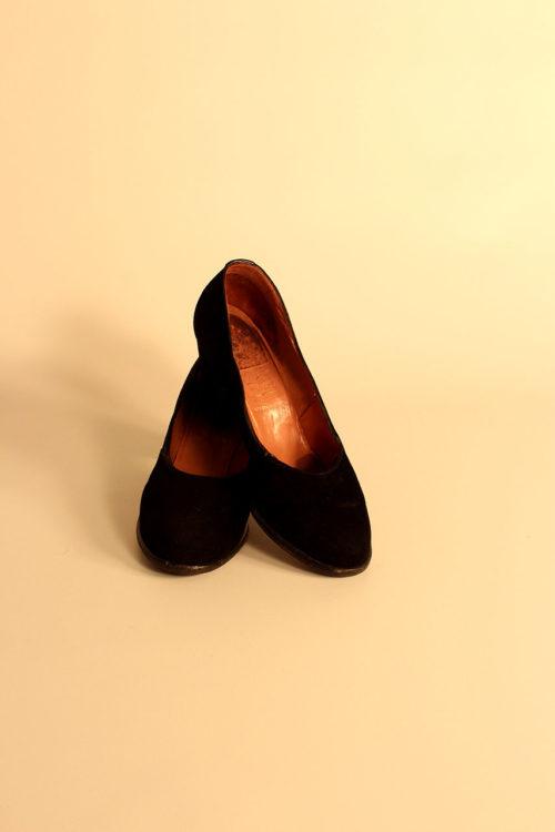 damen-lederpumps-vintage
